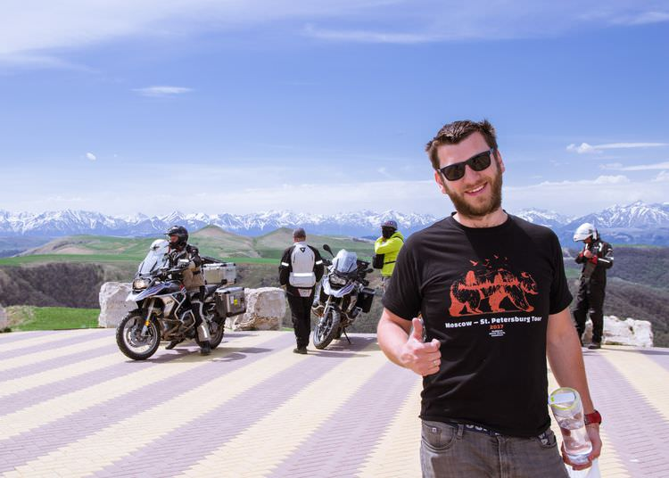 RMT Sochi – Elbrus: Motorcycle Tour over the Caucasus Mountains