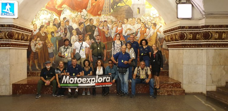 Moscow-Saint-Petersburg Custom tour with Motoexplora. August 2019
