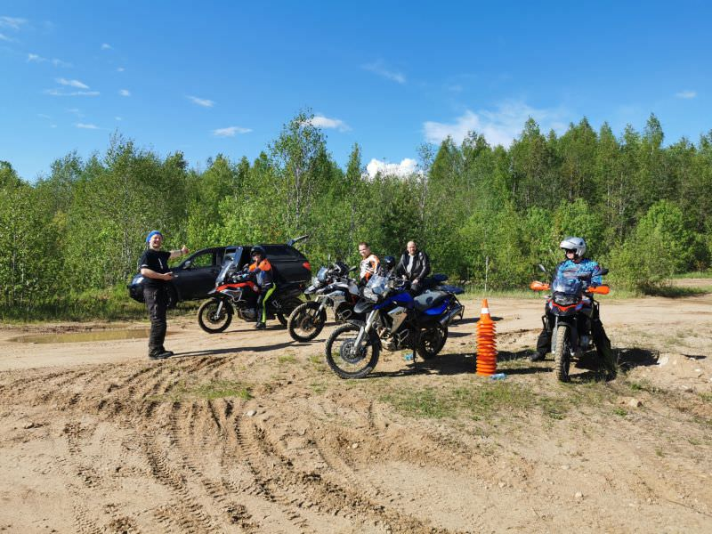 ​​RMT enduro off-road training Valdai