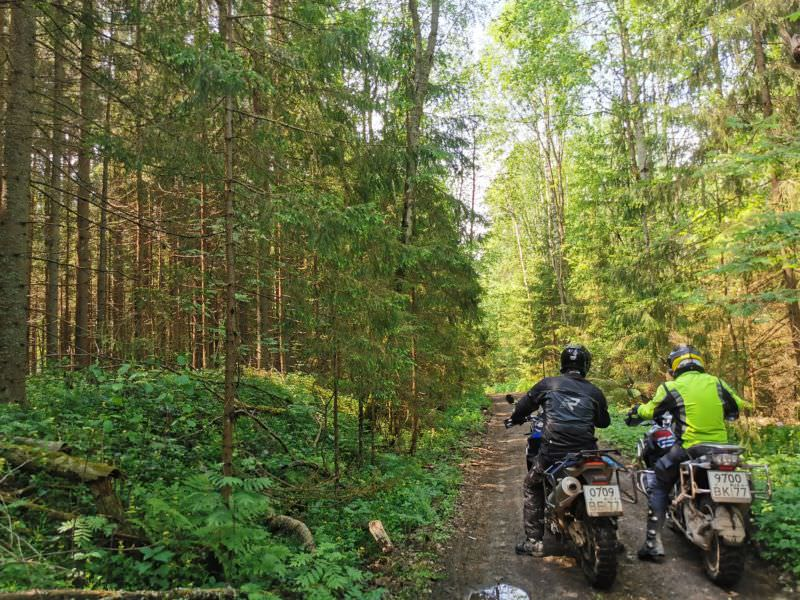 RMT off-road riding academy Rusmototravel enduro course